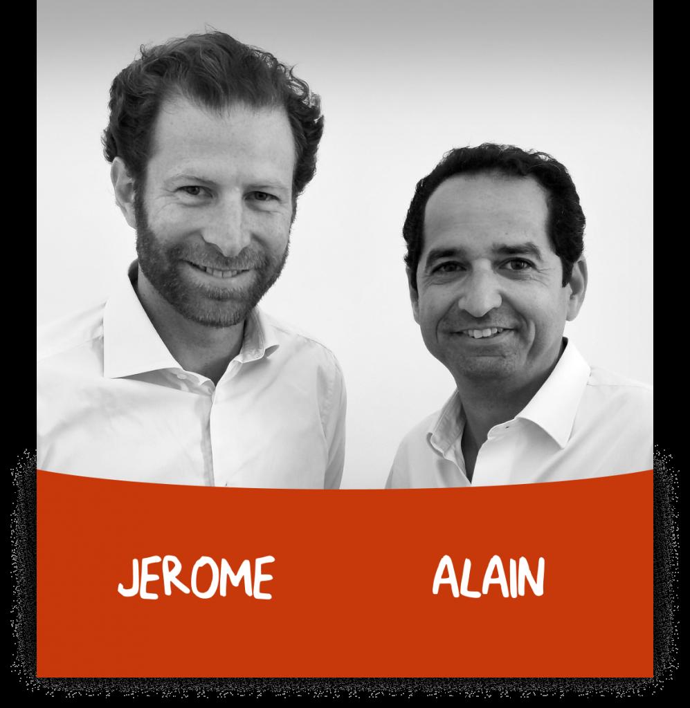 Jérôme et Alain