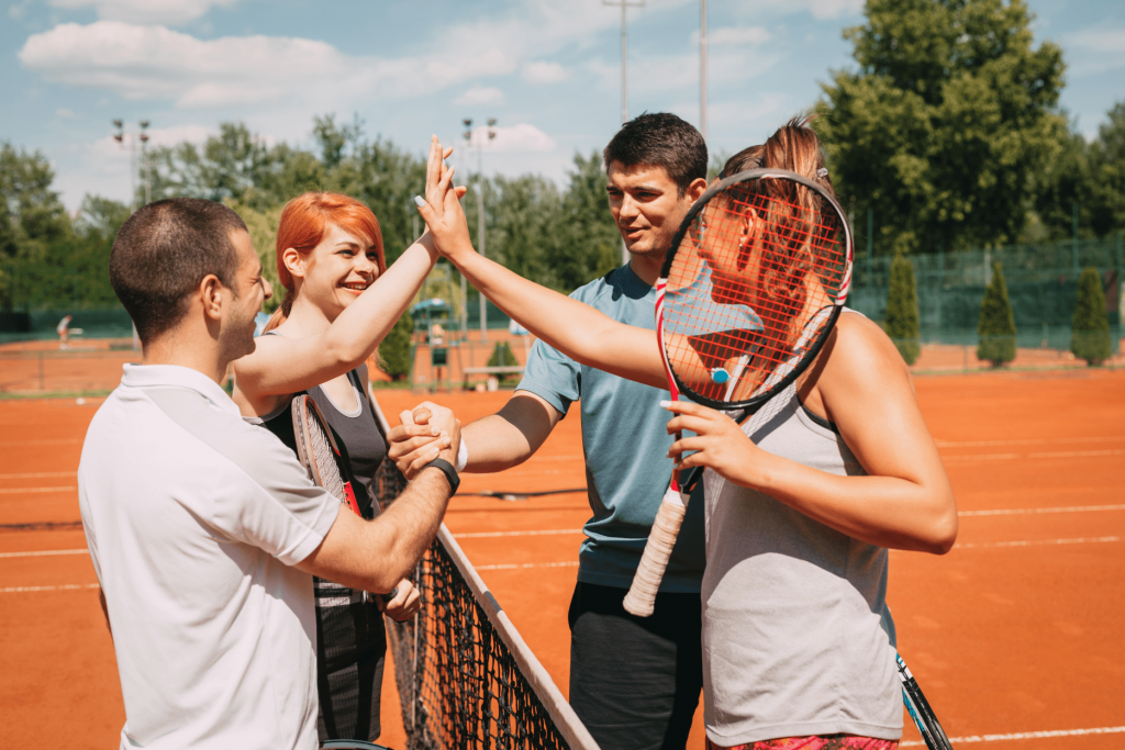 Tennismen et tenniswomen