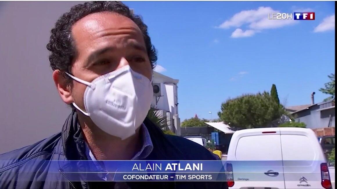 Alain Atlani sur TF1