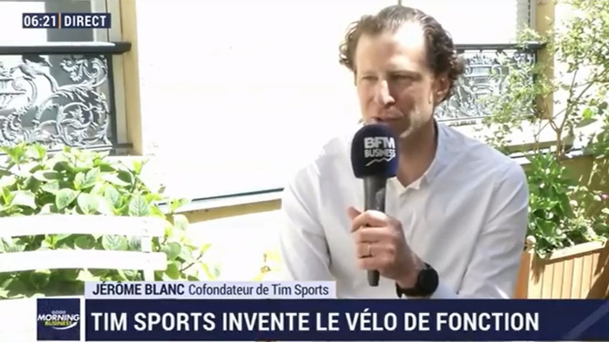 Jérôme Blance sur BFM